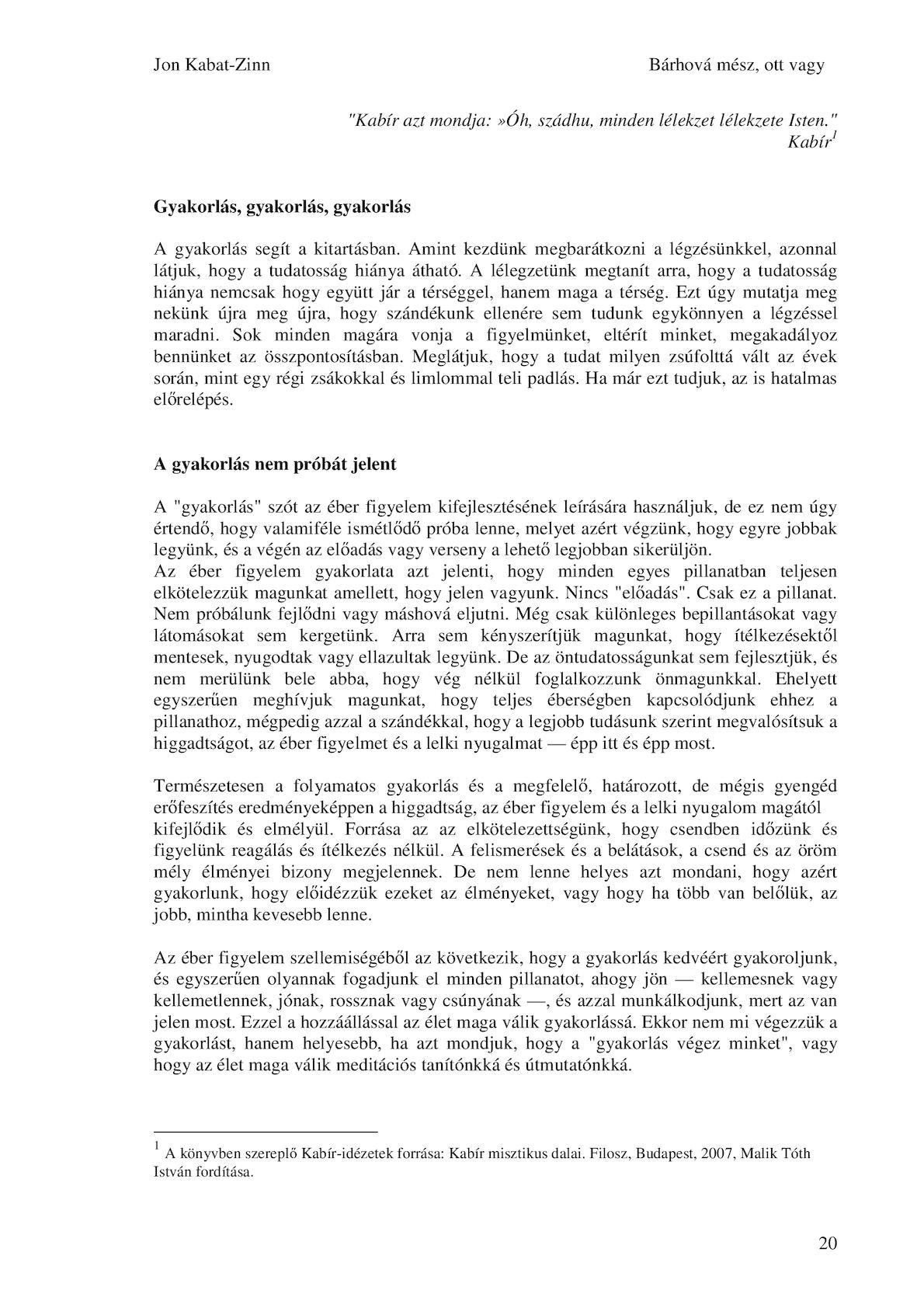 KARINTHY FRIGYES: IDOMÍTOTT VILÁG I.
