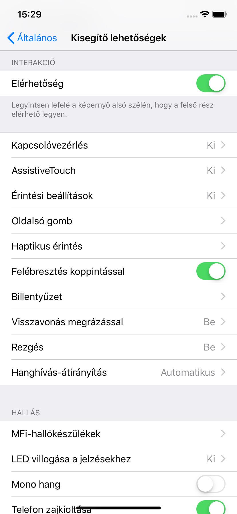 Így állítható át iPhone XR-en a haptikus érintés időtartama