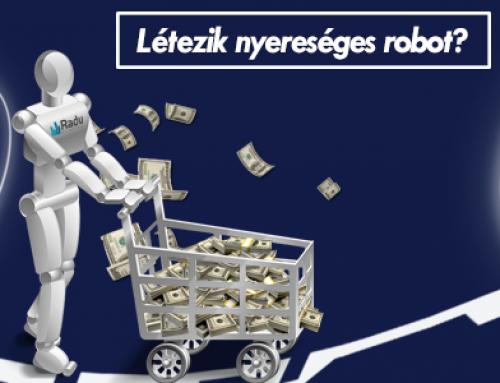 kereskedő robotok működnek