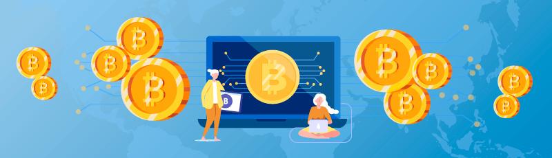 a bitcoinok sokat keresnek és gyorsan beszélnek