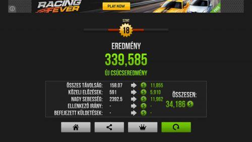Letöltés Traffic Racer Android: Verseny