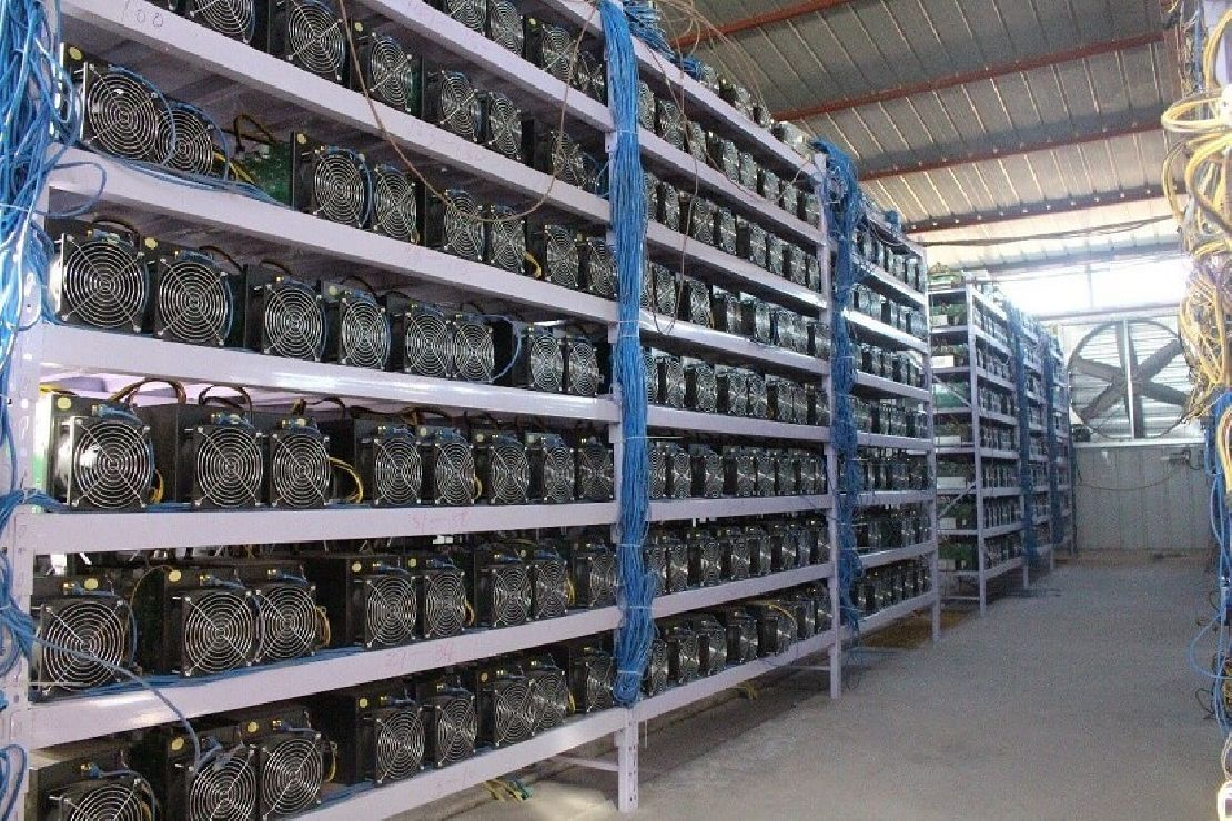 bitcoin bányász)