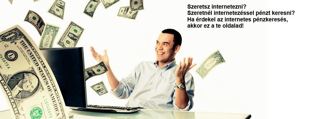 weboldalon pénzt keresni befektetés nélkül