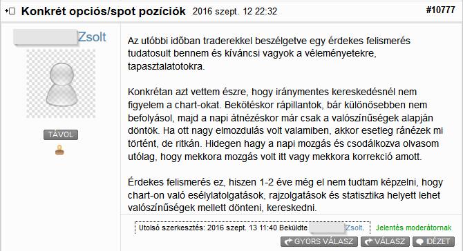 kényelmi zóna opciós kereskedés)