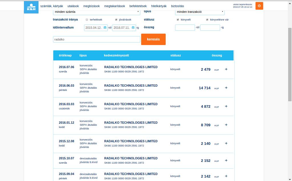 biztonságos befektetések az internetes listán)