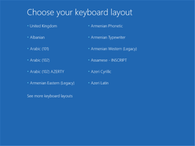 A Windows indítási beállításai (beleértve a csökkentett módot is)