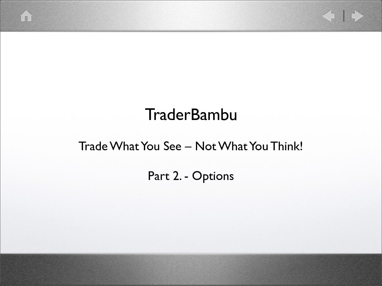 Opció MESTERKURZUS - Opciós Tőzsdei Kereskedés