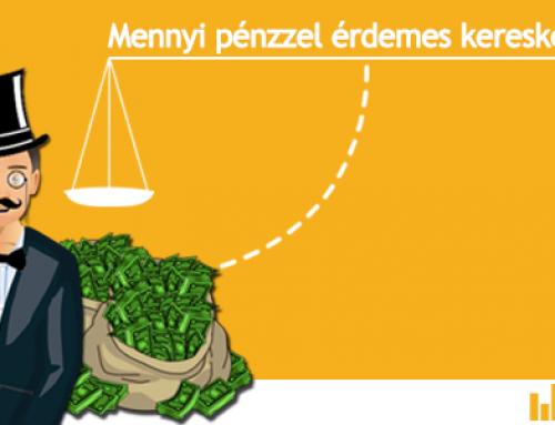a kereskedők szintenként kereskednek)