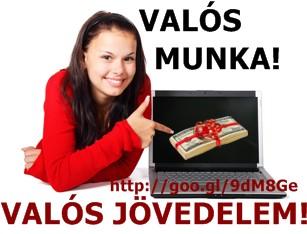 Sürgősen kerestetik: Valós internetes - aktuális Valós internetes munkák - Jooble