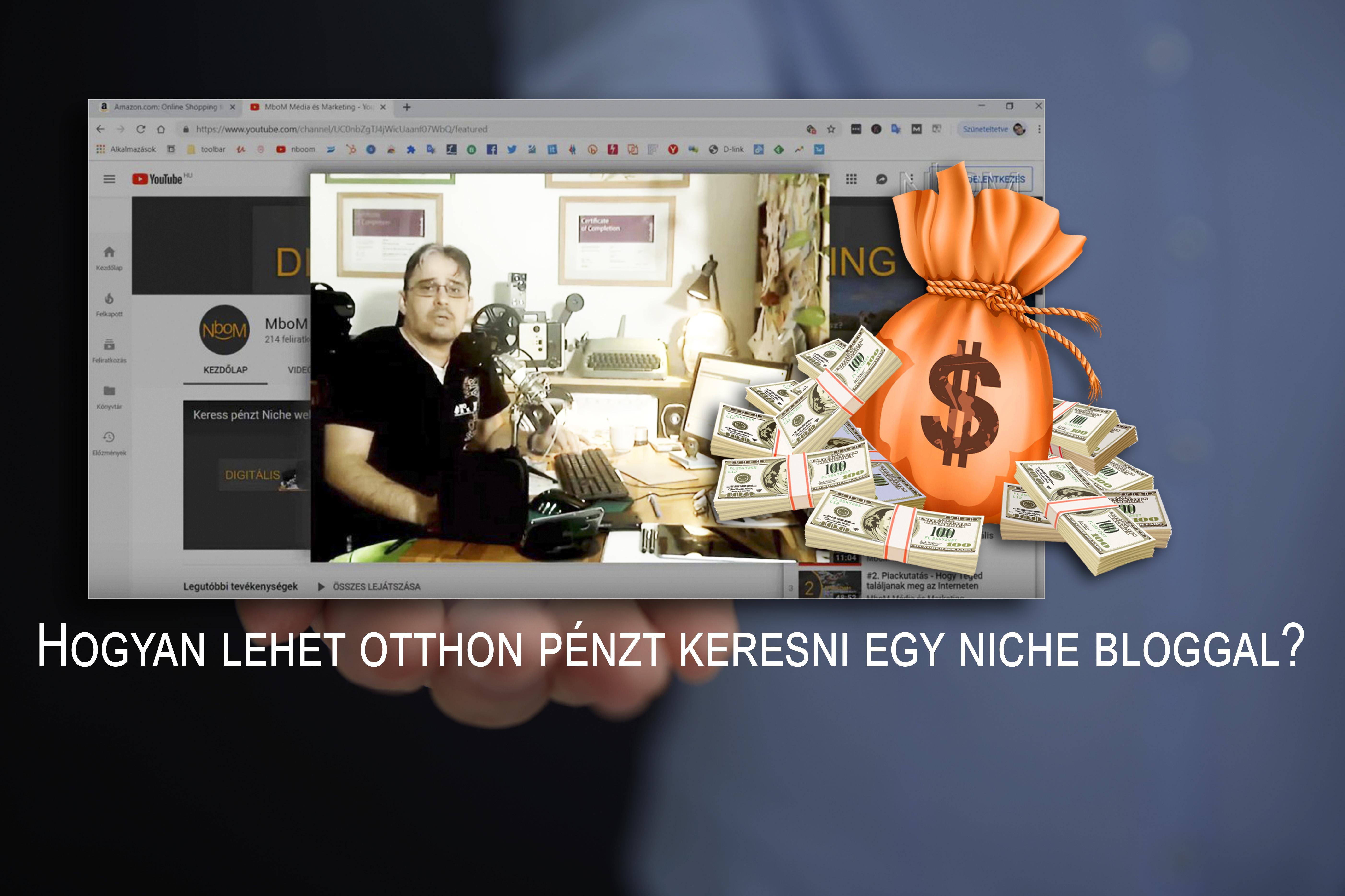 van internet és tudás, hogyan lehet pénzt keresni