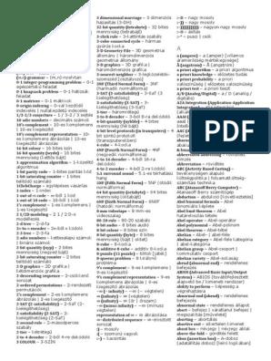 magyar-angol fordítás erre a szóra: bináris