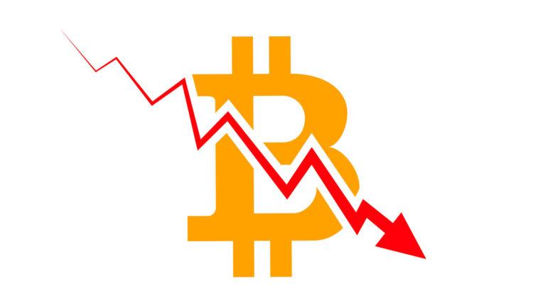 bitcoin összeomlás
