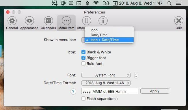 technikai naptár az opciókhoz