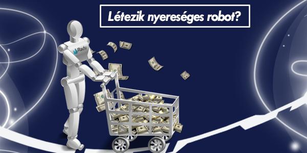 írjon egyedi kereskedési robotot)