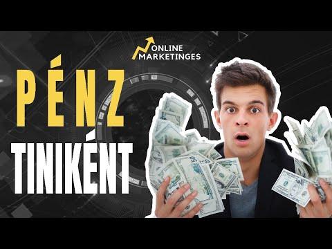 hogyan lehet pénzt keresni 16 évesen)