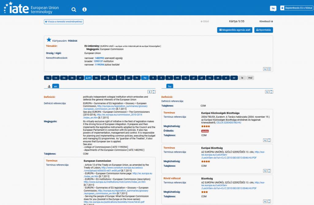 Terminológiai adatbázis: tervezzünk, mielőtt fordítunk